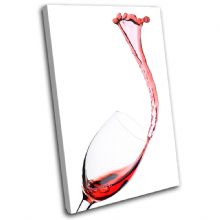 Glass Red Wine Red Food Kitchen - 13-0044(00B)-SG32-PO